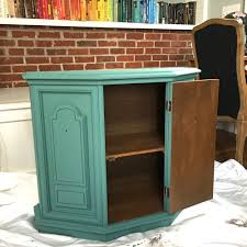 combining shades of blue and green chalk paint u2014 a simpler design