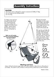 How To Make A Chair Hammock Sunnydaze Deluxe Hanging Hammock Air Chair W C Stand