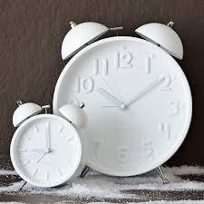 West Virginia travel alarm clocks images Ceramic white alarm clocks west elm jpg
