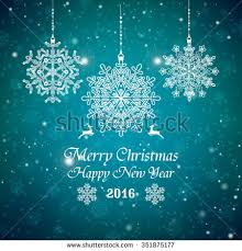 merry christmas happy new year card stock vector 158167214