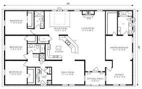 2 4 bedroom house plans simple rectangular house plan amazing chic 3 simple rectangular 4