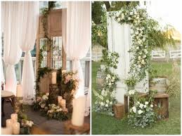 wedding backdrop doors vintage doors as wedding decor