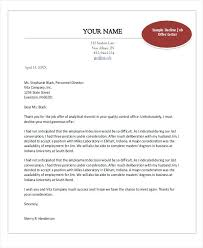 Business Letter Offer best photos of business letter temp employee employment best