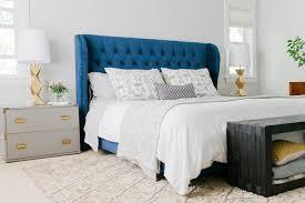 charming navy blue headboard with best 20 velvet headboard ideas