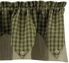 Park Designs Curtains Contemporary Window Valances Country Style Kitchen Valance