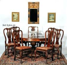 mahogany dining room set 1940 dining room sets antique table and 6 chairs 1940s cherry dining