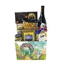 wine and cheese gift basket heartfelt wine and cheese gift basket deschutes gift baskets