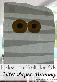 Halloween Craft Kids - halloween crafts for kids toilet paper mummy from abcs to acts