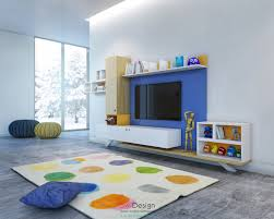 Small Storage Room Design - colorful kids room designs with plenty of storage space