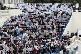 picture of inauguration crowd spot the billionaires given special seats on donald trump u0027s