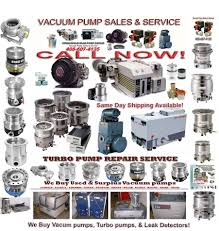 Oem 190 607 by Vacuum Pump Sales U0026 Repair Turbo Pump Repair Varian Sciex V801