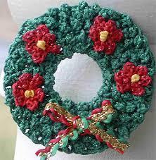 crocheted christmas free cross stitch needlepoint crochet projects