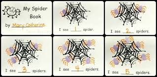 halloween math with a spider counting book