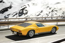 lamborghini miura race car the best looking among the fastest the lamborghini miura dyler