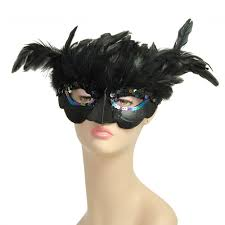 feather mask black bird feather mask 27068bkaj mardigrasoutlet
