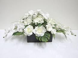 White Flower Arrangements Flower Arrangements Hostwin