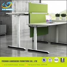Desk Modern by High Tech Adjustable Office Desk Modern One Person Sit Standing