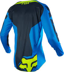 fox jersey motocross fox jersey 180 race blue yellow 2016 maciag offroad