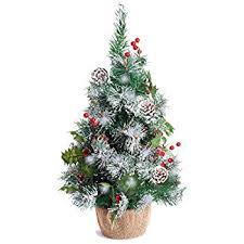mini christmas tree with lights best artificial 2ft 60cm small decorated indoor christmas tree with