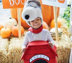 Snoopy Halloween Costume Kids Toddler Snoopy 3d Dog House Costume Pottery Barn Kids