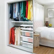 reach in closet white elfa dcor reachin closet wire shelving in
