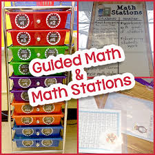 guided math and math stations math stations math blocks and