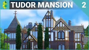 tudor mansion 64x64 furnish part 2 the sims 4 house building