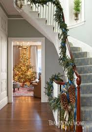 historic boston home dressed for the holidays traditional home
