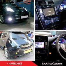 nissan leaf kit car advance car audio timeline