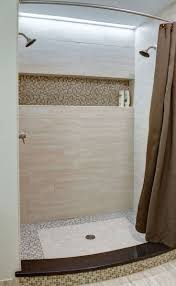 built in shelf the length of the shower great idea like the