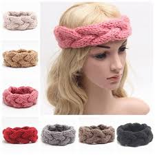crochet hair bands knitted headband for women fashion winter headbands