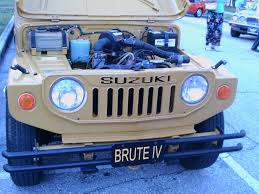 jeep suzuki samurai for sale 1972 suzuki brute iv tan mtd071412 youtube