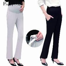 maternity work trousers 3 colors high waist autumn new maternity for work career