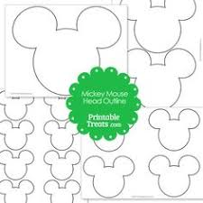mickey mouse large printable cutouts guess