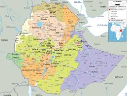 Africa Map With Cities by Maps Of Ethiopia Map Library Maps Of The World