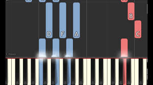 power rangers soundtrack stand piano sheet u0026 synthesia