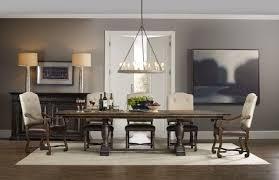 dining room trestle table hooker furniture dining room treviso trestle dining table with two