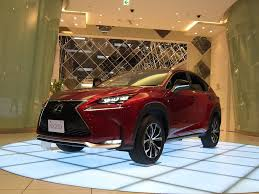 lexus nx touch up paint lexus nx 200t shows up in new matador red mica autoevolution