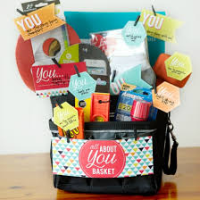 anniversary gift basket all about you basket