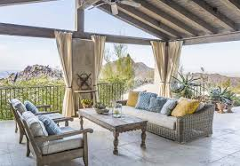 Mediterranean Furniture Style Mediterranean Style Home In Arizona Showcases Amazing Outdoor Spaces