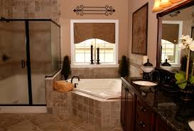 Rustic Bathrooms Designs by Bathroom Stylish Rustic Bathroom With Modern White Tub In Attic