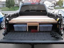 defconbrix truckvault cargoglide bed storage solutions