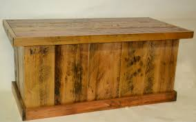 barnwood trunk blanket chest coffee table rustic furniture mall