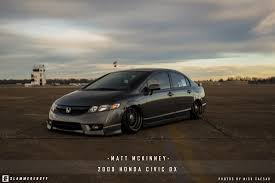 09 honda civic rims matt mckinney civic slammedenuff