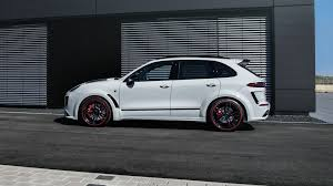 Porsche Cayenne Turbo S - video techart uses porsche cayenne turbo s to mark three decades