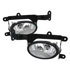 amazon com 2006 2008 honda civic 2dr oem style fog lights clear