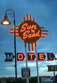 deco route 66 where it rains so much you can u0027t wait for a touch of old