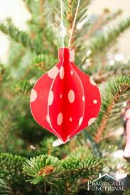 diy folded paper ornaments