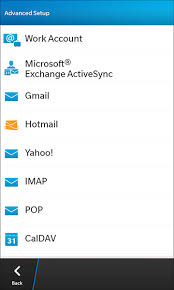 cara membuat yahoo mail di blackberry how to set up accounts on your blackberry 10 device crackberry com