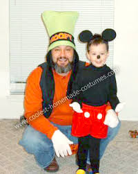 Mickey Mouse Toddler Halloween Costume Coolest Homemade Goofy Mickey Mouse Costumes Mickey Mouse